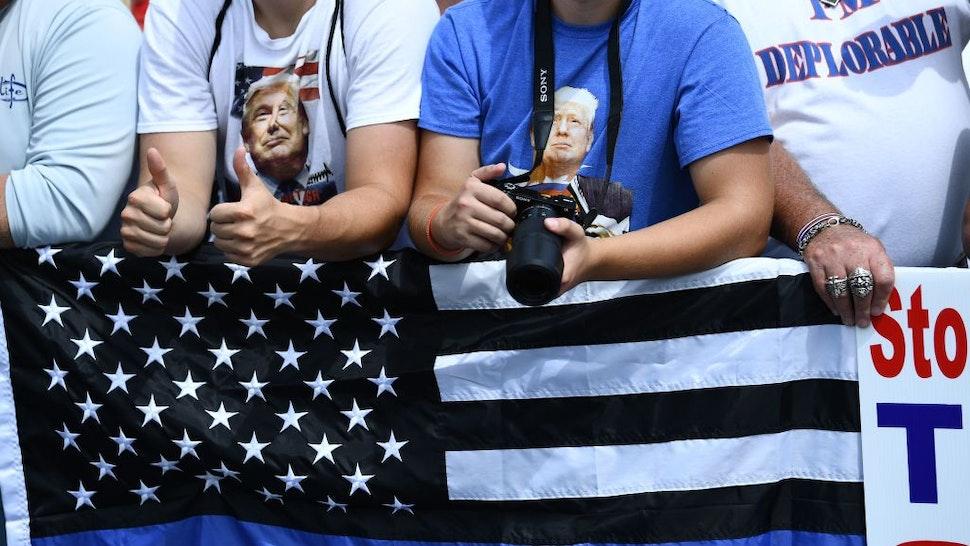 Trump Blue Lives Matter Asheville