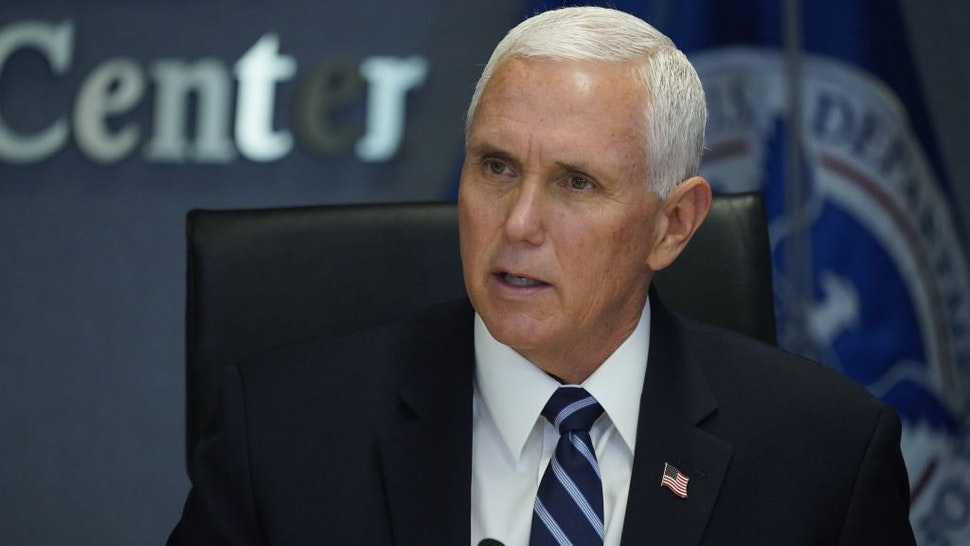 Pence: I 'Don't Recall' Being On Standby During President's Hospital Visit