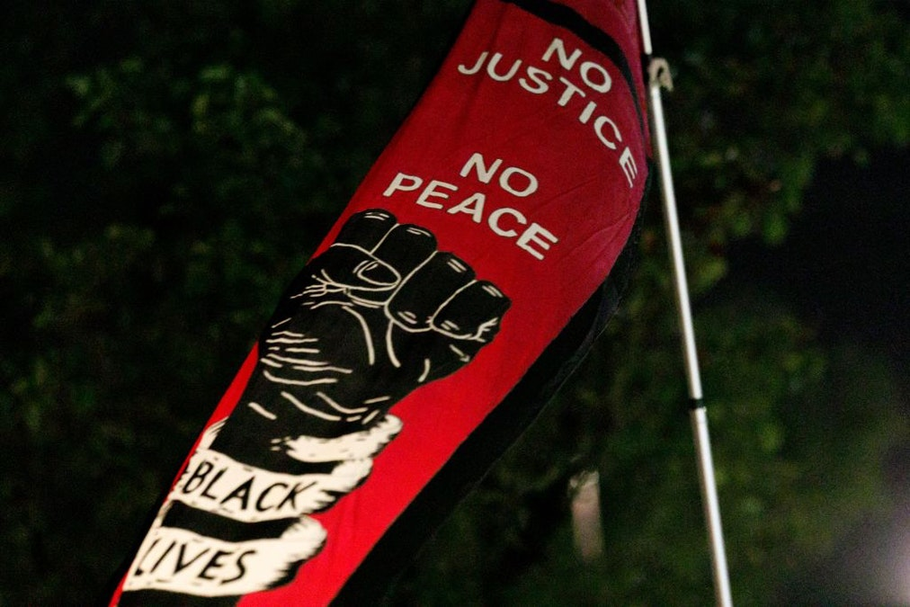 WATCH: Portland Activists Block Truck, Demand Passenger Give Black Power Salute And Chant 'Black Lives Matter'
