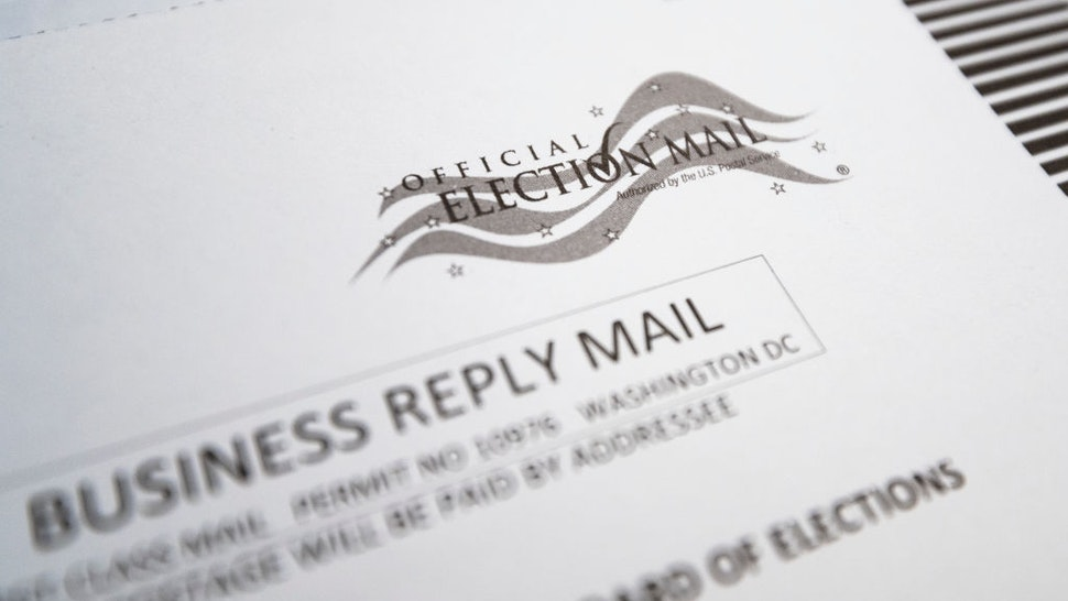 UNITED STATES - SEPTEMBER 6: slowdowns in the U.S. Postal Service have spurred concerns about delivery and receipt of ballots for the November elections. (Photo By Bill Clark/CQ-Roll Call, Inc via Getty Images)