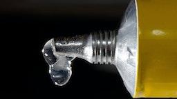 glue drops - stock photo
