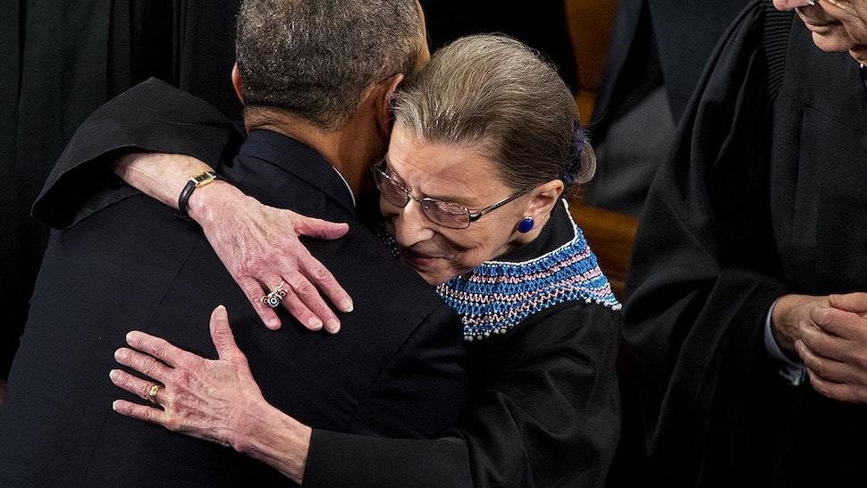 Obama Ruth Bader Ginsburg
