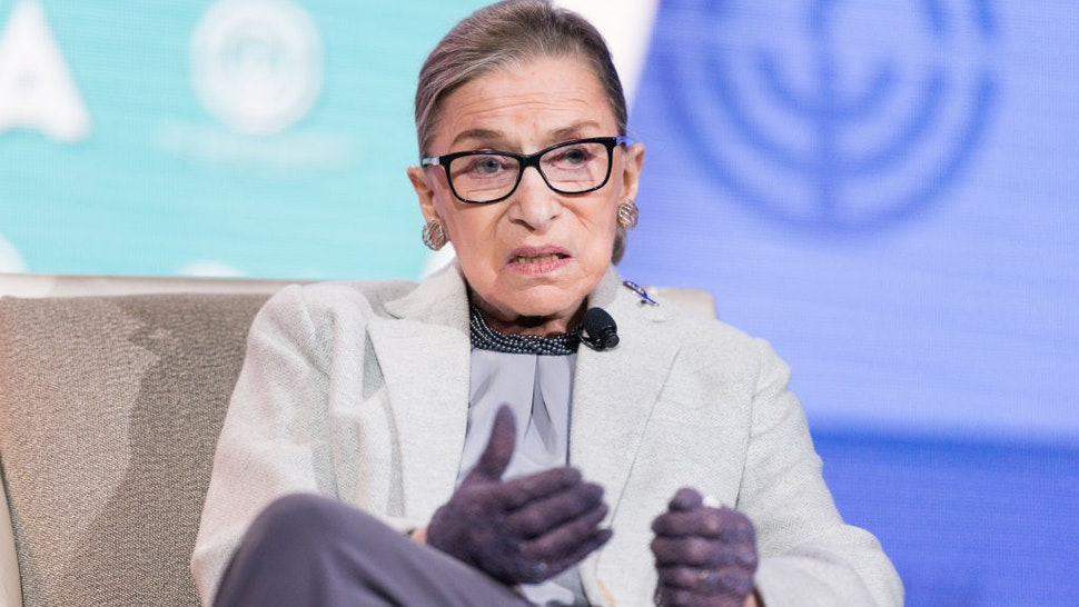 Ruth Bader Ginsburg, Associate Justice of the Supreme Court, at the 2016 JFNA GA.