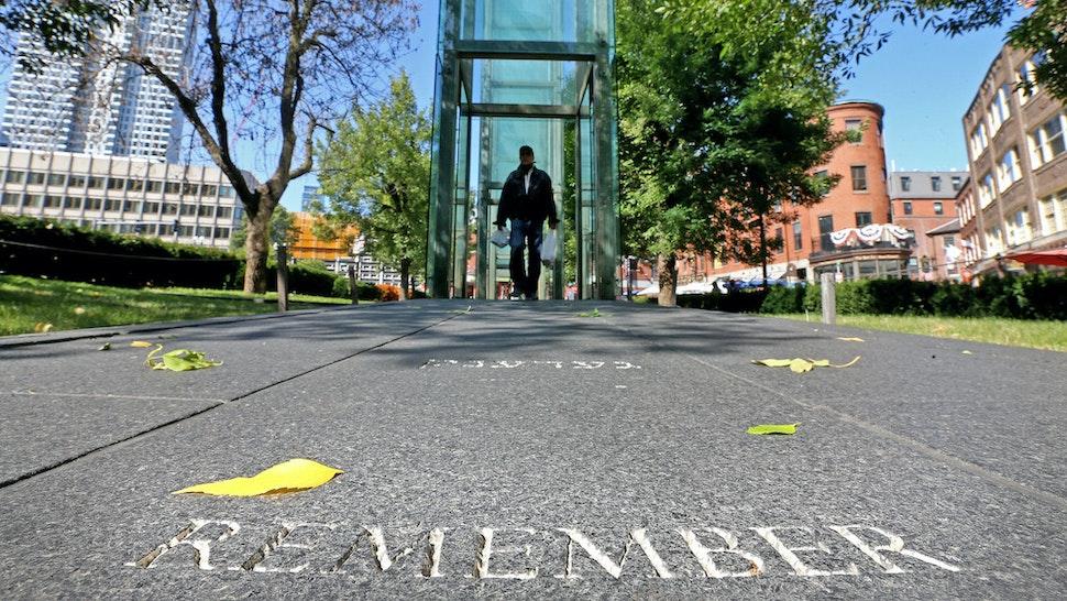 Holocaust Memorial on September 21, 2020 in Boston, Massachusetts. (Staff Photo By Matt Stone/ MediaNews Group/Boston Herald)