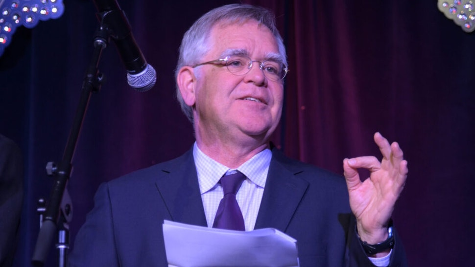NASHVILLE, TENNESSEE - FEBRUARY 13: Nashville Mayor John Cooper speaks at the Glen Campbell Museum and Rhinestone Stage on February 13, 2020 in Nashville, Tennessee.