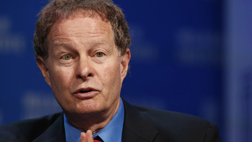 John Mackey, co-founder and co-chief executive officer of Whole Foods Market Inc., speaks during the annual Milken Institute Global Conference in Beverly Hills, California, U.S., on Monday, May 2, 2016. The conference gathers attendees to explore solutions to today's most pressing challenges in financial markets, industry sectors, health, government and education.