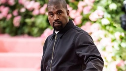 NEW YORK, NY - MAY 06: Kanye West is seen arriving to the 2019 Met Gala Celebrating Camp: Notes on Fashion at The Metropolitan Museum of Art on May 6, 2019 in New York City.
