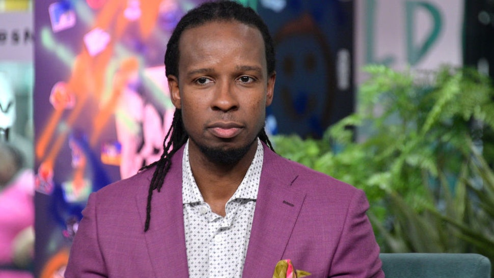 NEW YORK, NEW YORK - MARCH 10: Ibram X. Kendi visits Build to discuss the book Stamped: Racism, Antiracism and You at Build Studio on March 10, 2020 in New York City.