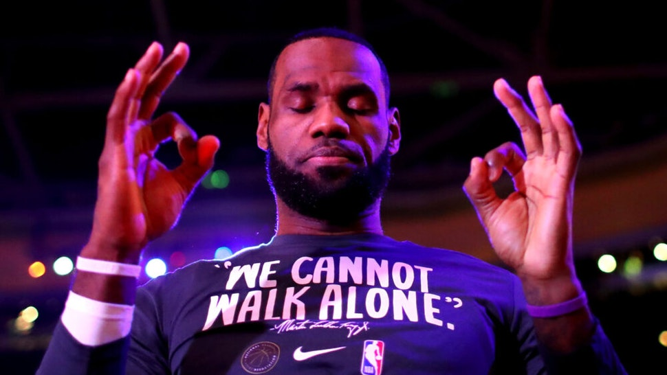 LA County Sheriff To LeBron: 'Step Up To The Plate' And Double Reward To Find Man Who Shot Deputies