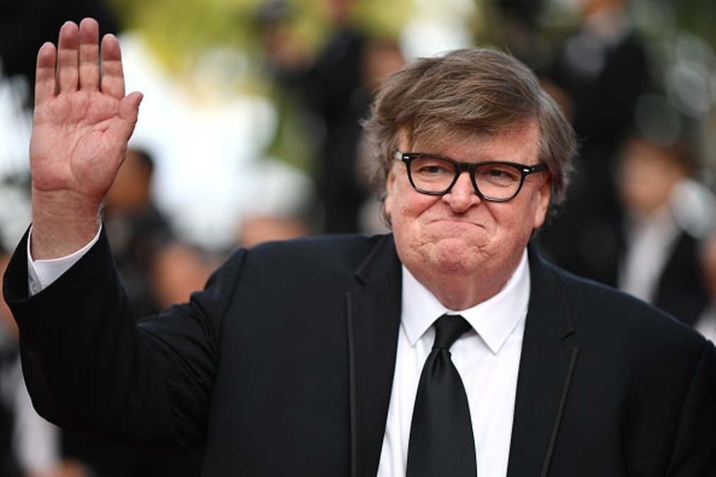 Michael Moore Suggests GOP Wants SCOTUS 'To Keep The Feet On The Necks Of Women'