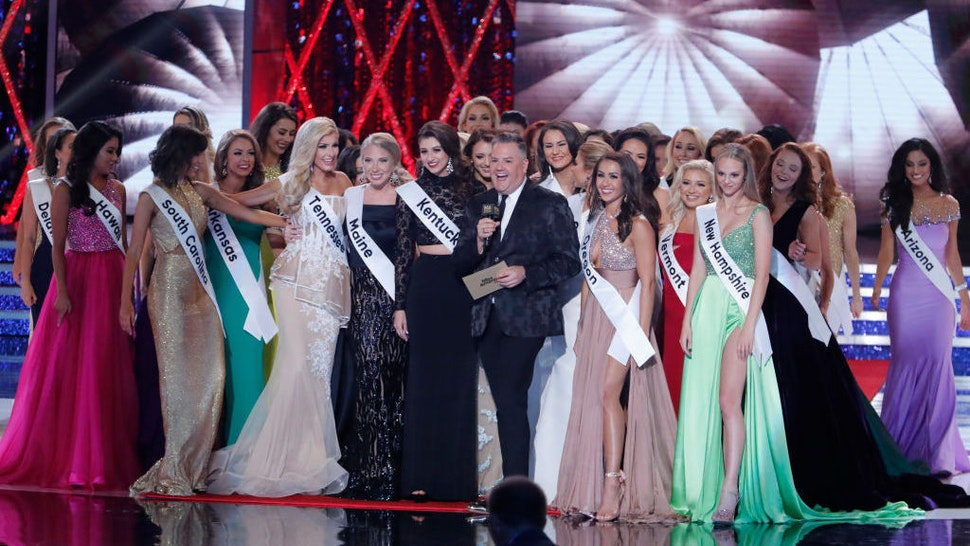 """The """"2019 Miss America Competition"""" broadcasts live from Atlantic City's Boardwalk Hall on Sunday, Sept. 9, 2018 (9-11pm, ET) on the Walt Disney Television via Getty Images Television Network. (photo by Lou Rocco/Walt Disney Television via Getty Images)"""