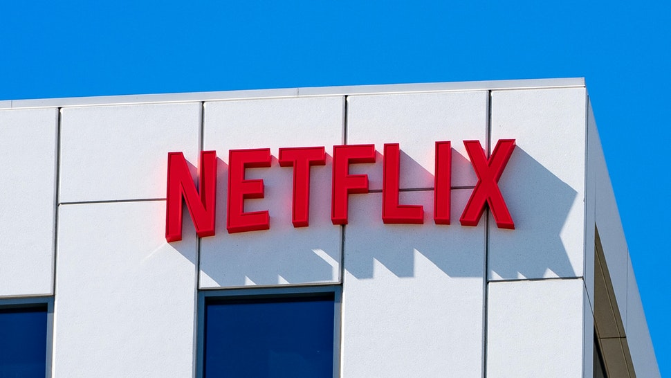 LOS ANGELES, CA - AUGUST 11: General view of the Netflix Corporate Offices in Hollywood at Sunset Bronson Studios on August 11, 2020 in Los Angeles, California.