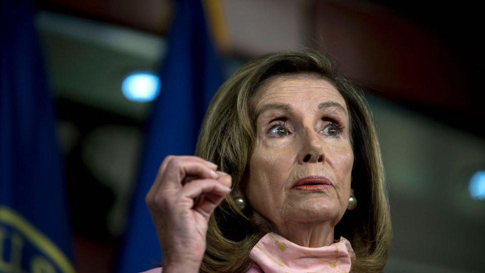 Pelosi Doubles Down, Says Biden Shouldn't Debate Trump On Tuesday