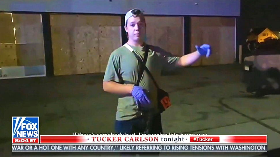 WATCH: Tucker Carlson Airs Never Before Seen Footage From Kyle Rittenhouse Shooting In Kenosha