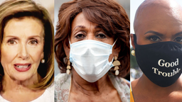 Nancy Pelosi, Maxine Waters, Ayanna Pressley