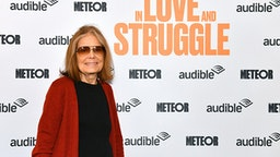 """NEW YORK, NEW YORK - MARCH 01: Gloria Steinem attends as Audible presents: """"In Love and Struggle"""" at Audible's Minetta Lane Theater on March 01, 2020 in New York City."""