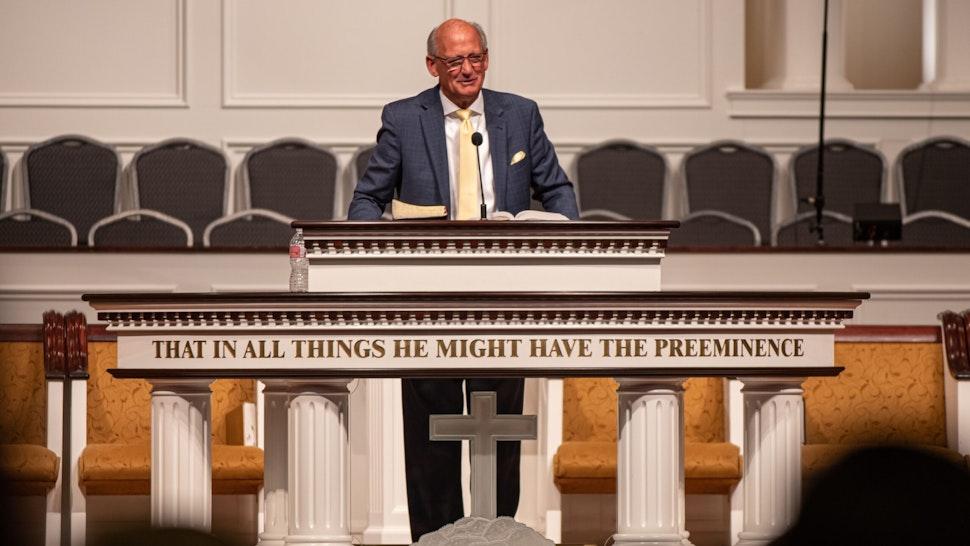 Pastor Jack Trieber