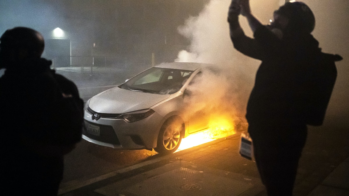 Rioters Attack Car With Dog Inside, Allegedly Assault Gay Man, Destroy Businesses