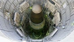 USA, Arizona, Titan nuclear intercontinental ballistic missile in silo