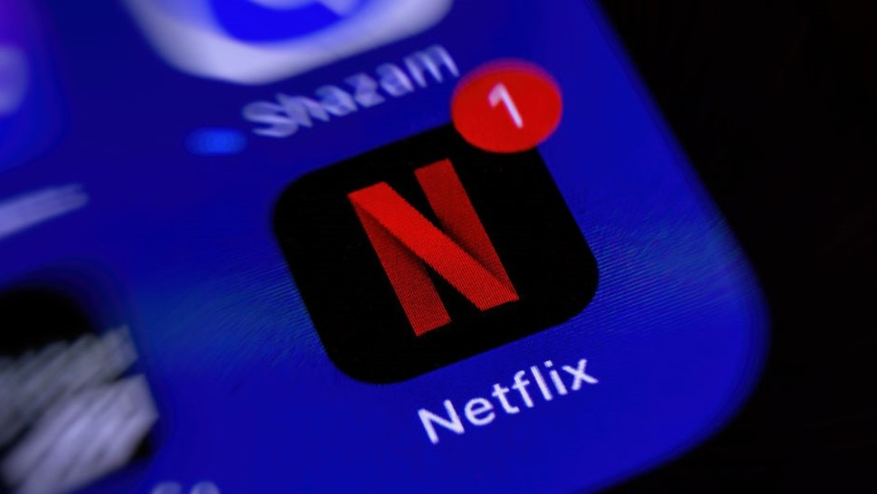 BOCHUM, GERMANY - MAY 11: (BILD ZEITUNG OUT) A smartphone screen is seen with the Streaming app Netflix on May 11, 2020 in Bochum, Germany. (Photo by