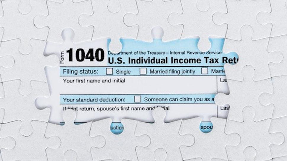 US Tax Return Jigsaw Puzzle