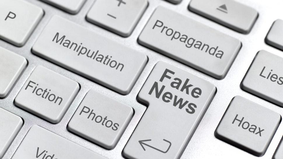 Fake news keyboard.