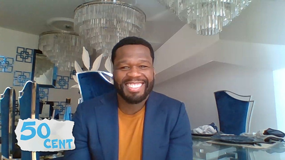 WATCH WHAT HAPPENS LIVE WITH ANDY COHEN @ HOME -- Episode 17080 -- Pictured in this screen grab: 50 Cent