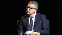 """Jeffrey Toobin, Senior Legal Analyst, CNN speaks at the 2016 """"Tina Brown Live Media's American Justice Summit"""" at Gerald W. Lynch Theatre on January 29, 2016 in New York City."""
