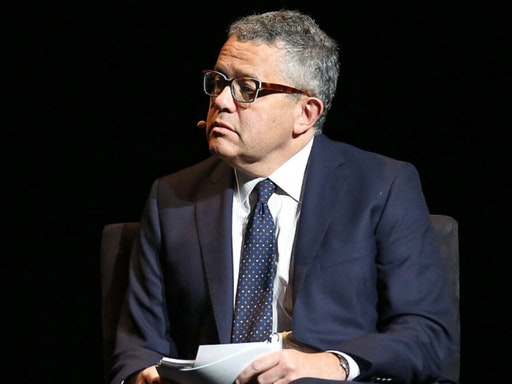 "Jeffrey Toobin, Senior Legal Analyst, CNN speaks at the 2016 ""Tina Brown Live Media's American Justice Summit"" at Gerald W. Lynch Theatre on January 29, 2016 in New York City."