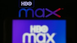 In this illustration photo HBO Max logos are displayed on a mobile phone and a laptop screen in Ankara, Turkey on June 1, 2020.