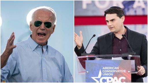 Joe Biden and Ben Shapiro