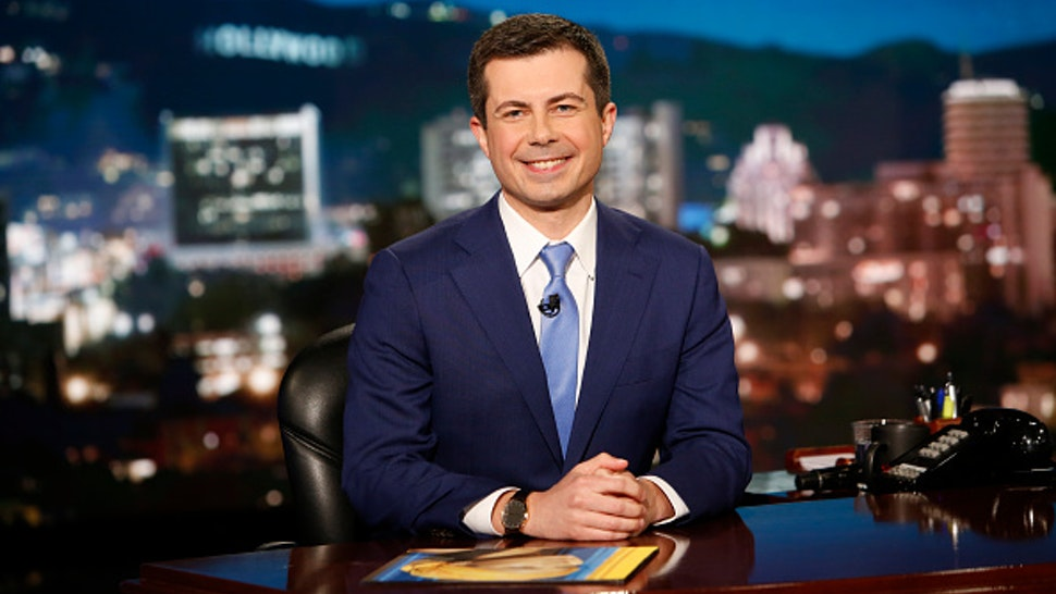 """JIMMY KIMMEL LIVE! - """"Jimmy Kimmel Live!"""" airs every weeknight at 11:35 p.m. EST and features a diverse lineup of guests that include celebrities, athletes, musical acts, comedians and human interest subjects, along with comedy bits and a house band. Guest host Mayor Pete Buttigieg welcomes the guests for Thursday, March 12, included Sir Patrick Stewart (Star Trek: Picard), Tony Hale (Archibald's Next Big Thing) and musical guest Jhene Aiko featuring Miguel."""