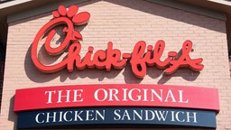 Chick-fil-a chain restaurant in Middletown, DE, on July 26, 2019.