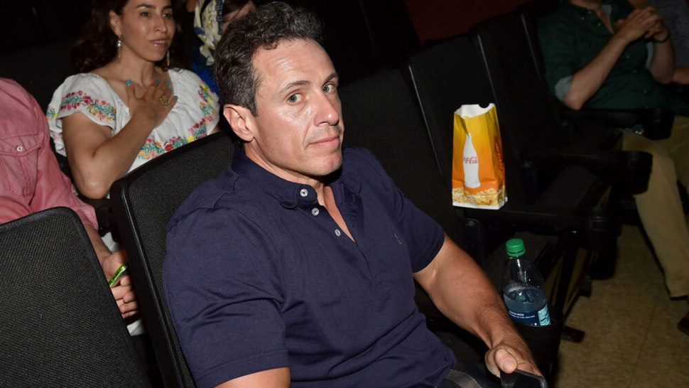 """SOUTHAMPTON, NY - JULY 02: Chris Cuomo attends The Hamptons Premiere of """"Blind"""" - Arrivals at UA Southampton Cinemas on July 2, 2017 in Southampton, New York."""