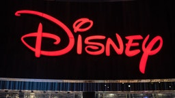 SHANGHAI, CHINA - 2019/09/08: American diversified multinational mass media and entertainment conglomerate The Walt Disney Company logo seen in Shanghai. (Photo by Alex Tai/SOPA Images/LightRocket via Getty Images)