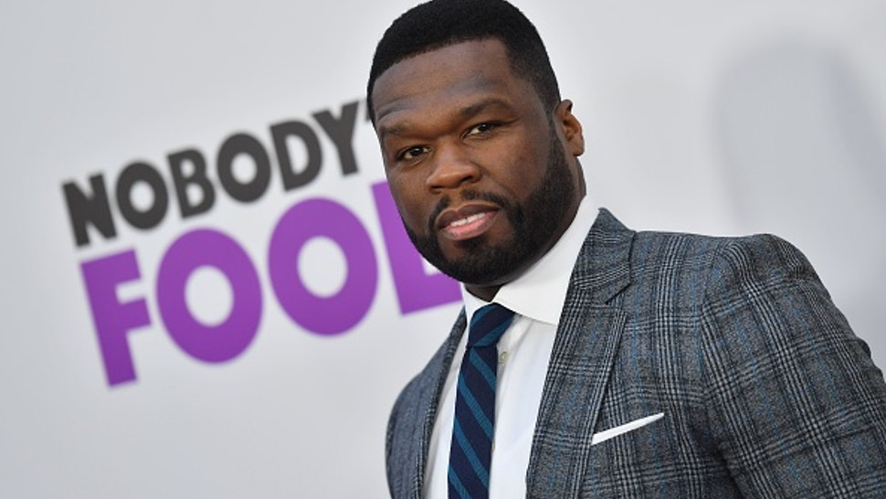 "US rapper 50 Cent attends the New York premiere of ""Nobody's Fool"" at AMC Lincoln Square Theater on October 28, 2018 in New York City."
