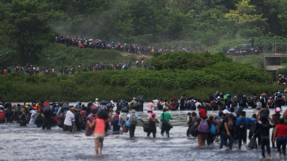 Another Migrant Caravan Is Heading For The U.S. Border