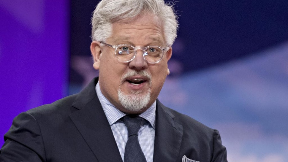 Television personality Glenn Beck speaks during the Conservative Political Action Conference (CPAC) in National Harbor, Maryland, U.S., on Friday, March 1, 2019.