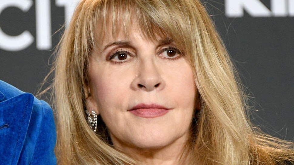 Inductee Stevie Nicks poses in the press room at the 2019 Rock & Roll Hall Of Fame Induction Ceremony - Press Room at Barclays Center on March 29, 2019 in New York City.