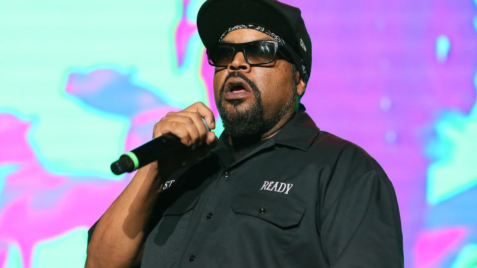Ice Cube performs during 93.5 KDAY Presents 2019 Krush Groove Concert at The Forum on April 20, 2019 in Inglewood, California.