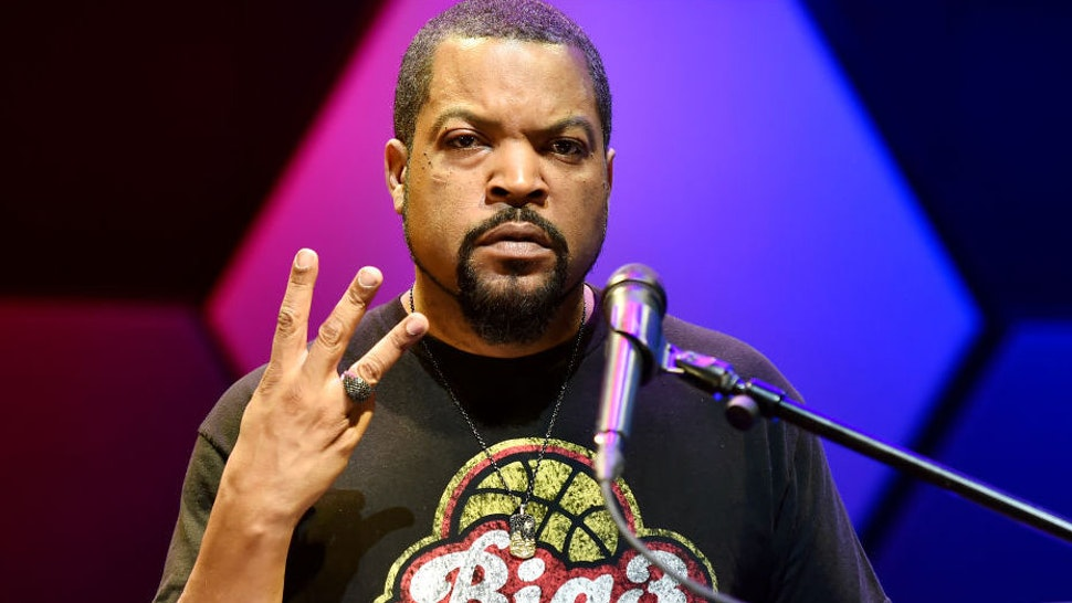 BIG3 co-founder Ice Cube poses ahead of the BIG3 Draft at the Luxor Hotel & Casino on May 01, 2019 in Las Vegas, Nevada.