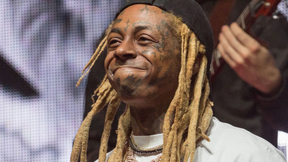 Rapper Lil Wayne performs onstage during JMBLYA at Fair Park on May 03, 2019 in Dallas, Texas.