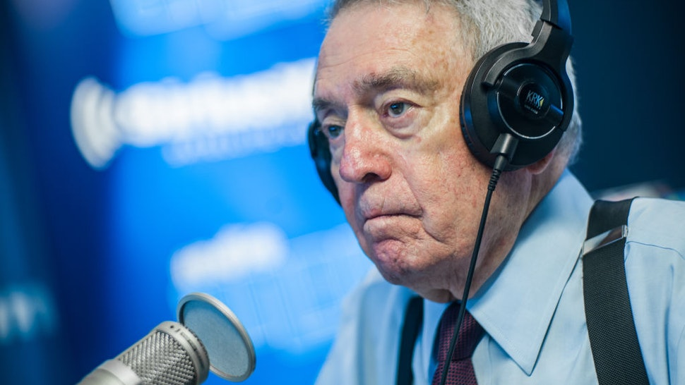 NEW YORK, NEW YORK - SEPTEMBER 10: (EXCLUSIVE COVERAGE) Dan Rather visits SiriusXM Studios on September 10, 2019 in New York City. (Photo by Steven Ferdman/Getty Images)