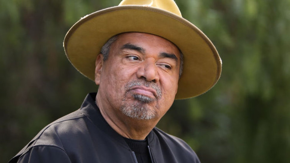 """Comedian / Actor George Lopez visits Hallmark Channel's """"Home & Family"""" at Universal Studios Hollywood on February 03, 2020 in Universal City, California."""