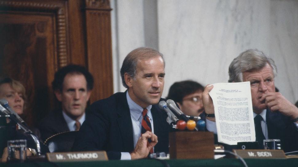 Joe Biden Ted Kennedy