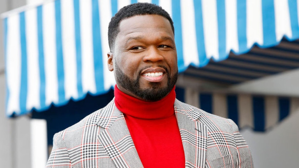 """Curtis """"50 Cent"""" Jackson attends a ceremony honoring him with a star on the Hollywood Walk of Fame on January 30, 2020 in Hollywood, California."""