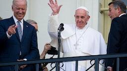 Pope Francis Joe Biden