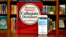 In this handout image provided by Merriam-Webster, Merriam-Webster's Collegiate Dictionary and mobile website are displayed September 23, 2016 in Springfield, Massachusetts.