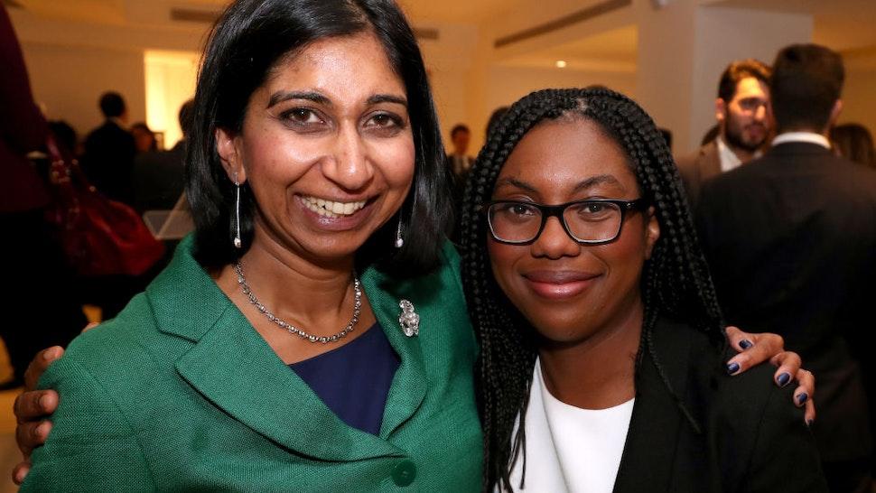 Suelle Fernandes MP and Kemi Badenoch MP