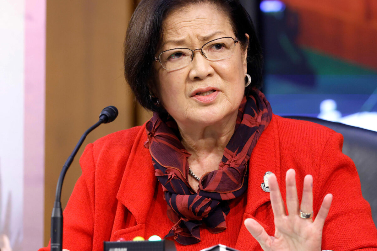 Hirono Snaps When Confronted Over Democrat Double Standard On 'Sexual Preference': 'World Is In Flames' | The Daily Wire